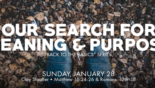 Our Search for Meaning and Purpose