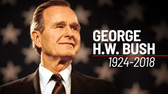 Remembering President George H. W. Bush