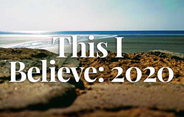 This I Believe: 2020