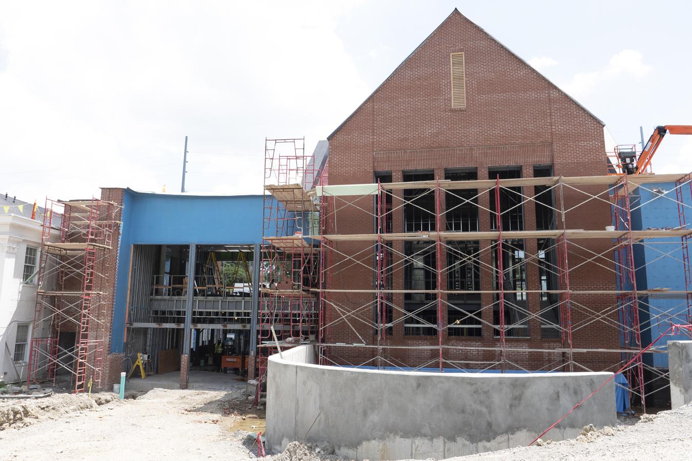 July 14 construction photos