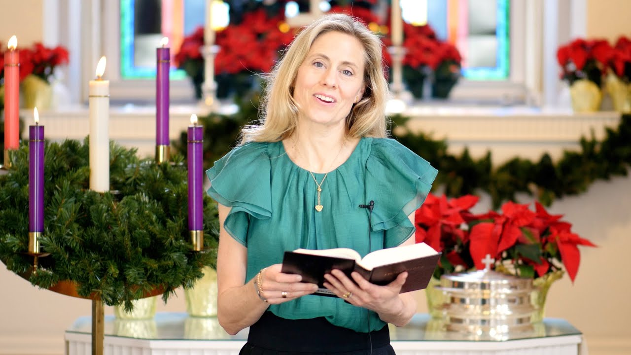 Dec. 24 - Lessons & Carols traditional Christmas Eve service
