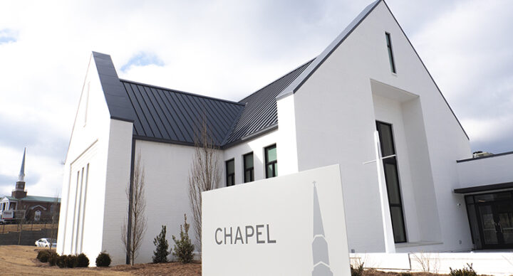 Woodmont chapel complete!